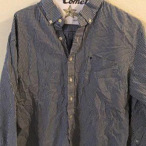 Men's Izod button up shirt
